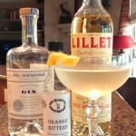 Dry Martini with Gin and Lillet