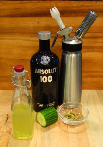 Cucumber Cardamon Syrup