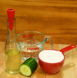 Cucumber Simple Syrup