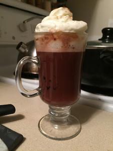 Sazarac Hot Chocolate