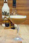 Sun and Snow - a Coconut Coffee Cocktail